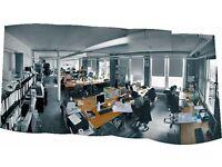 Generous Desk / Office Space in Shoreditch Warehouse Studio