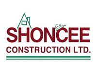 Shoncee Construction - No Job, Too Small. Repairs, Home improvements, Extensions, Maintenance & more