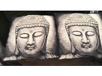 Buddha cushions