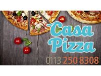 Full time delivery driver wanted for busy pizza takeaway covering Yeadon, Rawdon and Guiseley areas
