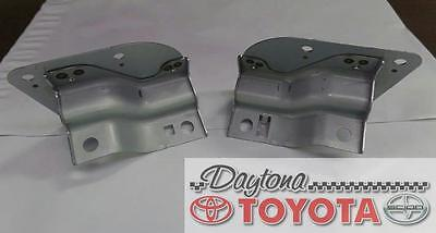 OEM TOYOTA TUNDRA SEQUOIA RADIO MOUNT BRACKET SET WITH 8 MOUNTING SCREWS - Oem Radio Brackets