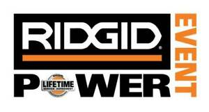 RIDGID POWER EVENT SALES DAY MARCH 16 @ HALIFAX HOME DEPOT