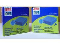 JUWEL AQUARIUM FILTER SPONGE FINE X 2 NEW IN BOX