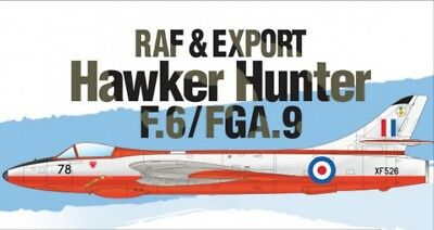 Academy 1/48 Hawker Hunter F.6 / FGA.9 RAF & Export # 12312