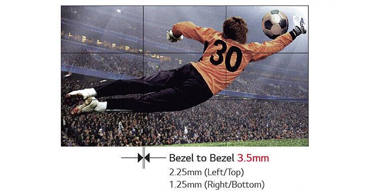 """LG 55LV77D-B 55"""" Ultra Narrow Bezel Full HD Video Wall Display (1 Single Screen)"""