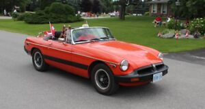 Excellent MGB convertible, in Kingsville, ON