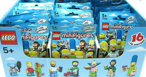 Lego Simpsons Collectible Minifigures...NEW