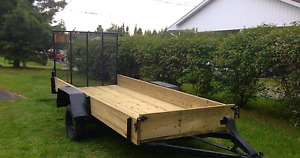 Utility Trailer - SOLD