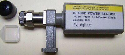 Fully Functional Agilent R8486d Waveguide Power Sensor 26-40ghz -70 To -20dbm