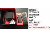 KODI INSTALL✔AMAZON FIRE STICK/BOX✔ANDROID DEVICE✔REMOTE INSTALL✔Free movies✔Sports✔TVShows✔Live TV✔