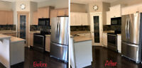 Kitchen Cabinets Painting and Refinishing