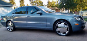 REDUCED!! 2004 MERCEDES-BENZ S500 4MATIC