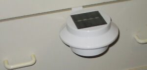 solar light for fence or indoor hang on drawer for a night light
