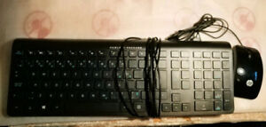 The mouse & keyboard