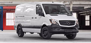 2016 Mercedes-Benz Sprinter V6 2500 Cargovan, Lease Takeover