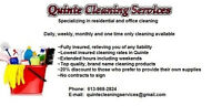 Insured Home & Office Cleaners Available