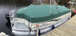Ponton 21 pieds sun tracker 2006 fishing barge
