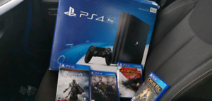 PS4 Pro 4 games $360