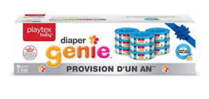 Playtex Diaper Genie recharge sacs poubelle couches