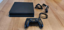PlayStation 4 Slim 1 TB with Genuine PS4 wireless controller .
