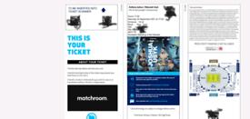 Anthony joshua vs usyk x2 tickets £200 each ono