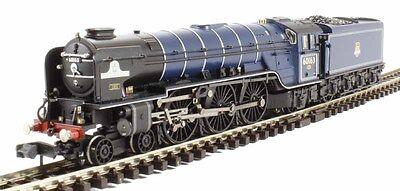 Graham Farish 372-800B Class A1 60163 Tornado BR Express Blue Loco, NEW!