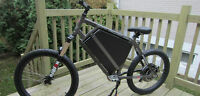 Electric Bike 100km range  Velo electrique 100km distance