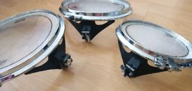"""Arbiter flats drum 10""""12""""14 Tom's Pro /pearl, Tama, Mapex"""