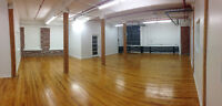 Beautiful commercial loft to share