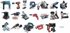 Power tools welcomed trades