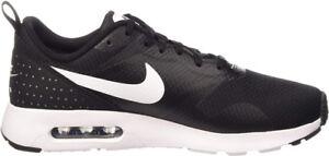 Nike Air Max Tavas Black & White Shoes Size 7.5 Brand New