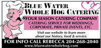 BLUE WATER WHOLE HOG CATERING