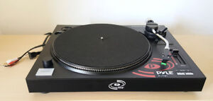 Turntable with Pre-amp and digital scale