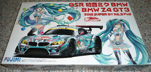 Fujimi 1/24 GSR Project Mirai BMW Z4 GT3 Rd.2 Fuji (Version 2)