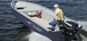 Super Wide 16 Aluminum Boat, Motor, Trailer Package from NewStar