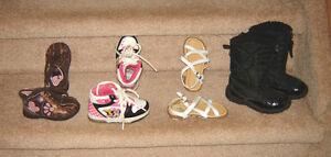 Shoes sz 5, 6, 8 / Dresses, Clothes - 24 mos, size 2, 3