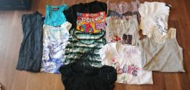 Ladies t-shirt/vest top bundle x17 items