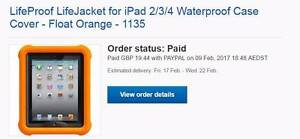 Lifejacket for IPAD 2,3,4 Quinns Rocks Wanneroo Area Preview