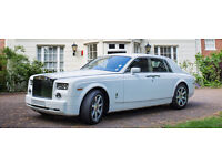 Rolls Royce Phantom / Ghost / Bentley / Luxury Wedding Car Hire Prom Party Chauffeur Affordable