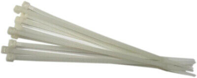 50 Lb Heavy Duty 50-1000 Pc. 8 Long Natural Cable Zip Ties