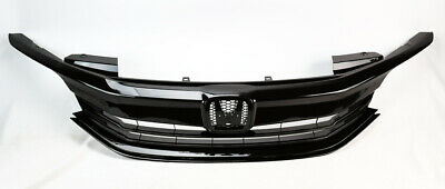 Front Replacement Upper Black Grille For Honda Accord 4DR 2016-2017 71121T2FXA5