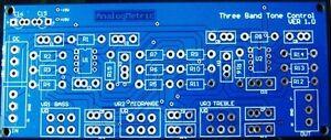 Three-Band-Tone-Control-PCB-Bass-Mid-Treble-Stereo