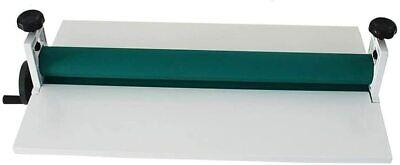 29.5 Manual Cold Roll Laminator Laminating Machine 750mm Office Equipment