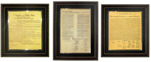 Constitution-Bill-of-Rights-Declaration-Framed