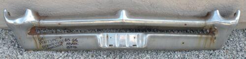 X Pontiac Front Bumper Bonneville Catalina Grand Prix Chrome Plated 1964 64