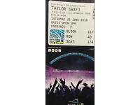 SELLING 4 tickets Taylor Swift Concert at Wembley