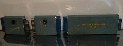 Tektronix Adapters 2 Each Gain Adj. Adapter 013-005 1 Each Ep53 Extension