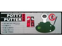 'Potty Putter' Lavatorial Golfing Game (as new)