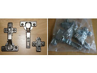 2pck Symphony 95º 35mm Standard Cabinet Hinges with Mounting Plates & Screws