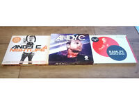 ANDY C DRUM & BASS CD'S RAM RECORDS